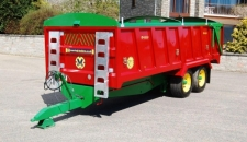 QM/14 Monocoque Trailer, Bespoke Green Chassis & Yellow Wheels