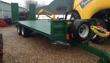 Bespoke Low Loader, 14-ton Capacity, SDB, 445-45x19.5 Wheels, Air/Oil Brakes, 10 Stud Commercial Axles