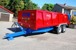 Low Sided QM/14 Grain Trailer