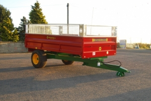 Bespoke S/6 Drop-side Trailer
