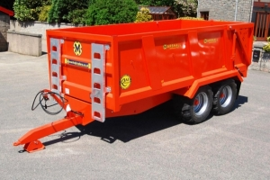 Bespoke QM/11, Kubota Orange, 9mm Floor, 5.5mm Sides, 12-ton Rams