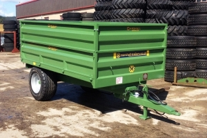 Bespoke S/4 Drop-side Trailer