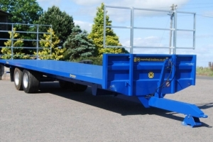 Newholland Blue BC/32 Marshall Bale Trailer