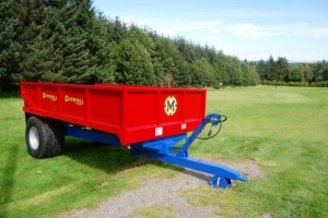 QMD/6 with oversized tyres for golf course