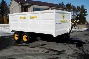 QM/8 Bespoke White Trailer for Local Council