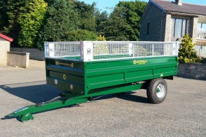 Bespoke S/6 Drop-side Trailer - Land Rover Green