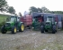 Fleet of Marshall Silage Trailers