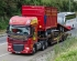 Marshall DAF XF Lorry Delivering
