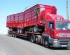 Marshall MAN Lorry Leaving With Three Monocoque Trailers