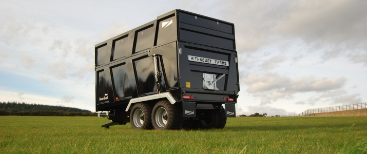 The Legendary Marshall Silage Trailer Range