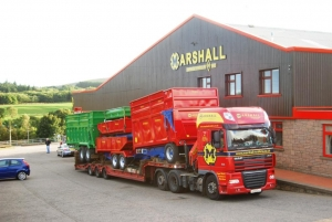 The Marshall Trailers factory in Aberdeen, 2014