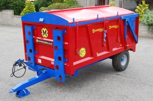 QM6 Monocoque Trailer by Marshall Trailers