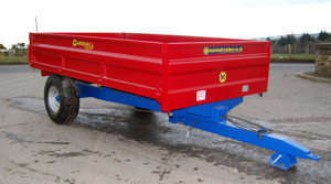 The Marshall S5 drop side tipping trailer.