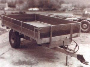 An original T310 Marshall Trailer from the 1960's