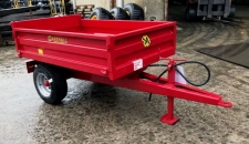 S/1 Drop-side Trailer - Front