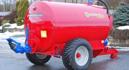The Marshall ST1200 tanker.