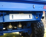 Number Plate Bracket & Light