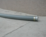 Standard Suction Hose c/w Coupling 15' Long