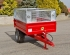 S/1 Drop-side Trailer, Mesh Sides - Front View