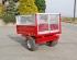 S/1 Drop-side Trailer, Mesh Sides - Rear View