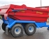 QMD/10H 10 ton dump trailer from Marshall Trailers showing the rear hydraulic door and light guards.