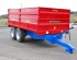 Marshall S10 drop side 10.5 tonne tipping trailer with grain sides.